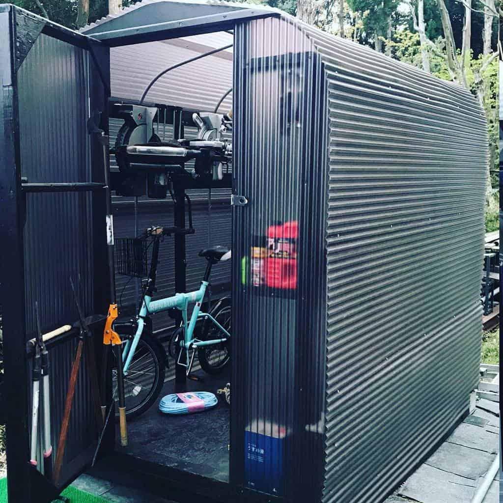 bike storage shed storage ideas noricohibino