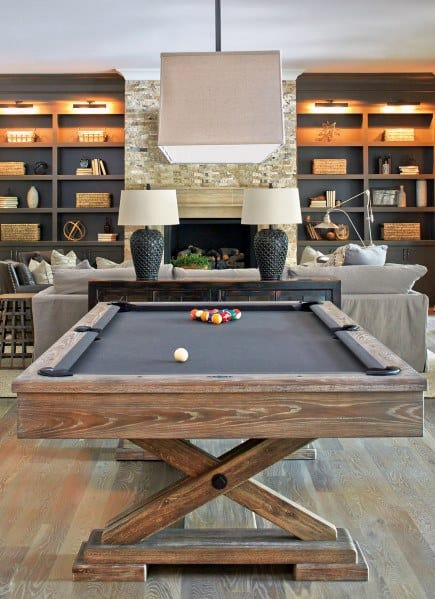 Billiard Room Decor Ideas Basement