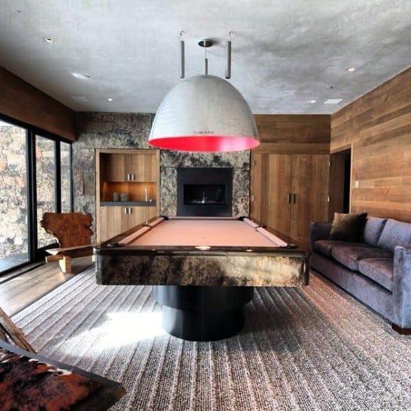 Billiard Room Furniture Design Ideas