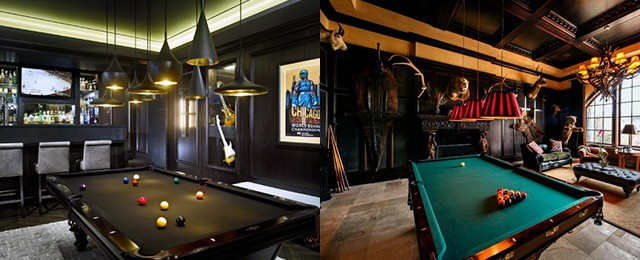 Billiards Room Ideas Designs