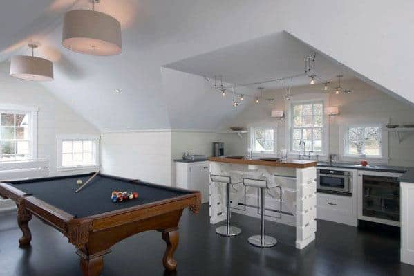 Billiards Room Track Lighting Cool Interior Ideas