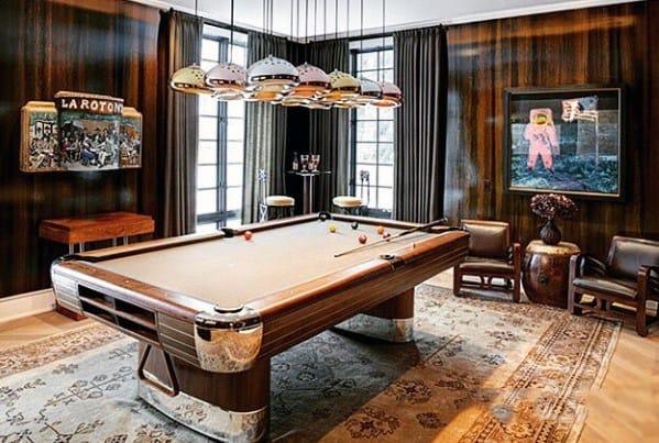 Billiards Rooms Interior Ideas