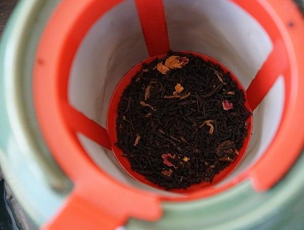 Bindle Bottle Making Tea In Teapot