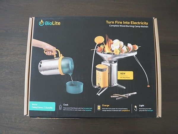 Biolite Campstove 2 Bundle Package