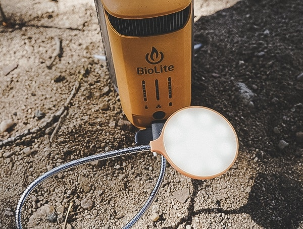 Biolite Campstove 2 Review Outdoor Field Test Bright Led Light