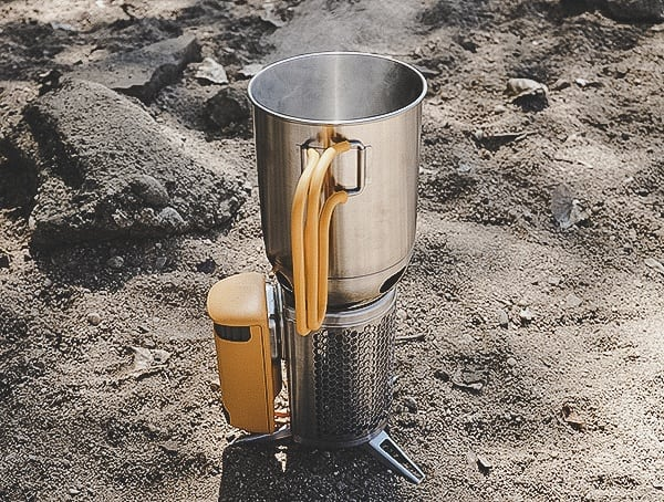 Biolite Campstove 2 Reviews Boiling Water Outdoors