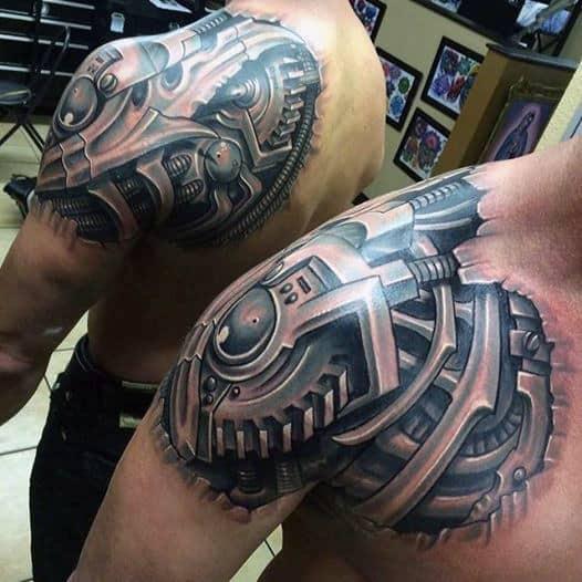 Bionic Men's Tattoos