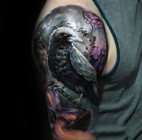 Broken hourglass tattoo  30 Broken Hourglass Tattoo Designs For Men - Time Ink Ideas