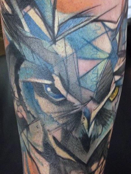 Birds Flying Tattoo For Men