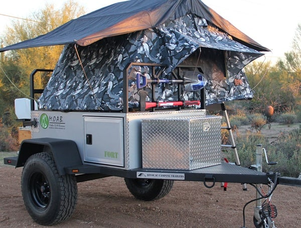 Bivouac Camping Moab Fort Off Road Camper