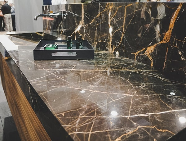 Black And Gold Marble Countertops For Bathroom Vegas Nahb Show 2019