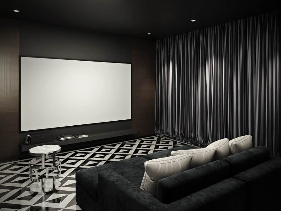 Home Theater Seating Design Idea Inspiration