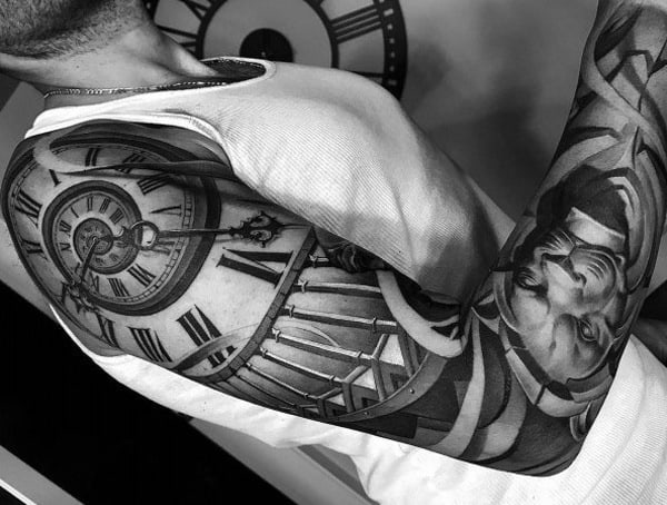 Black And Grey Styles Of Tattoos