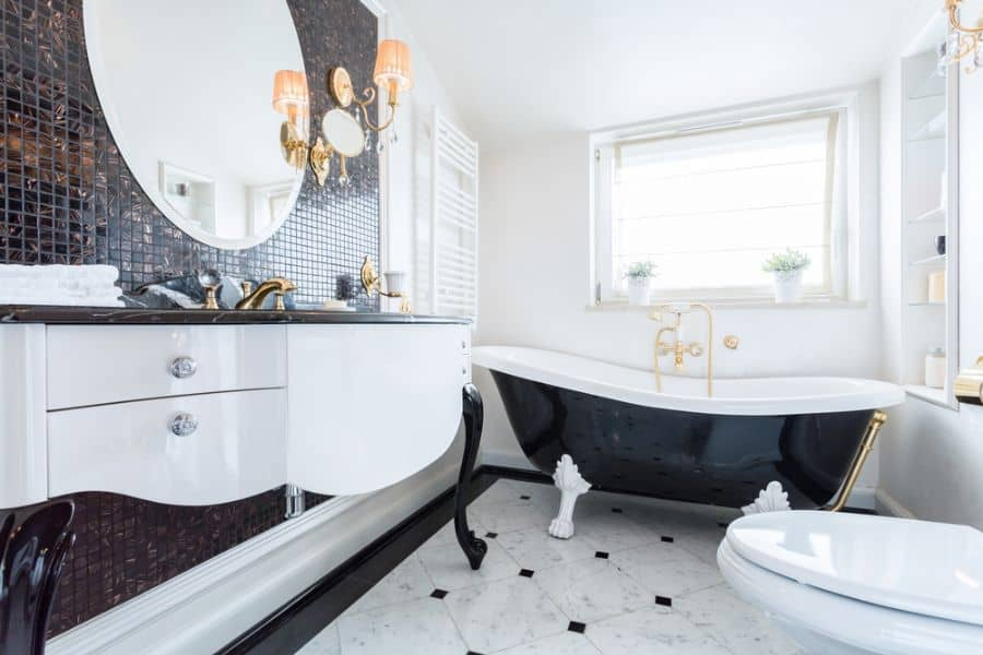 The Top 97 Best Black and White Bathroom Ideas – Interior Home and Design