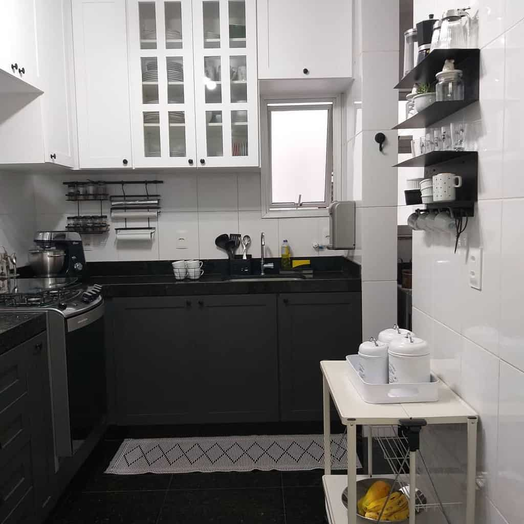 black and white kitchen color ideas 4.4home
