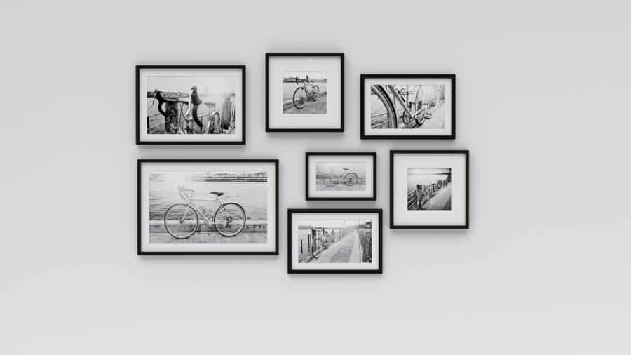 Black And White Picture Wall Ideas 1