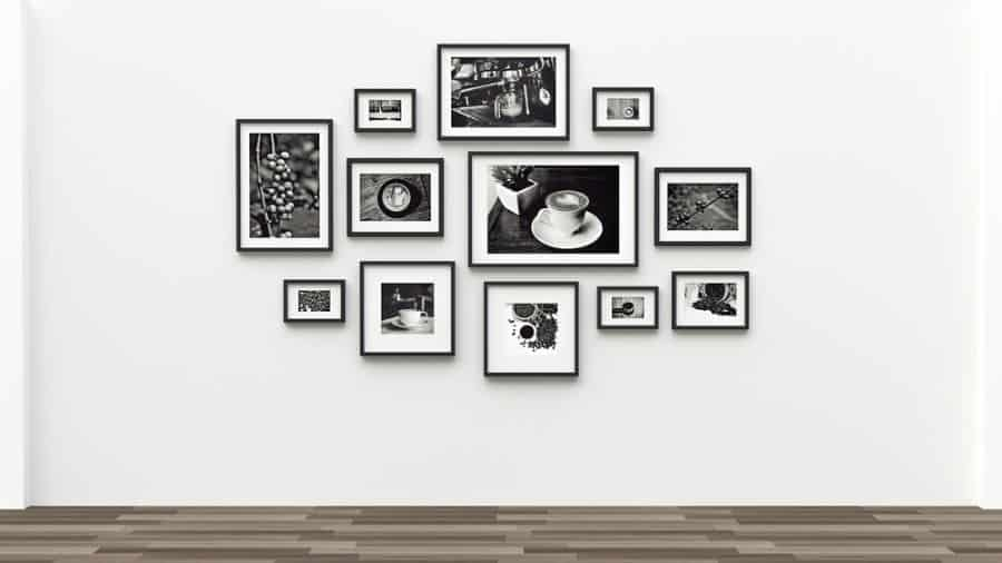 Black And White Picture Wall Ideas 2
