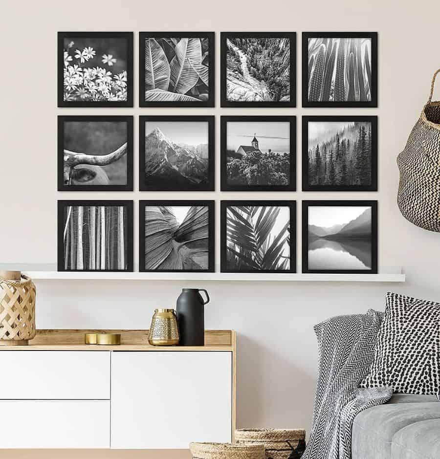 scandinavian black and white bedroom ideas