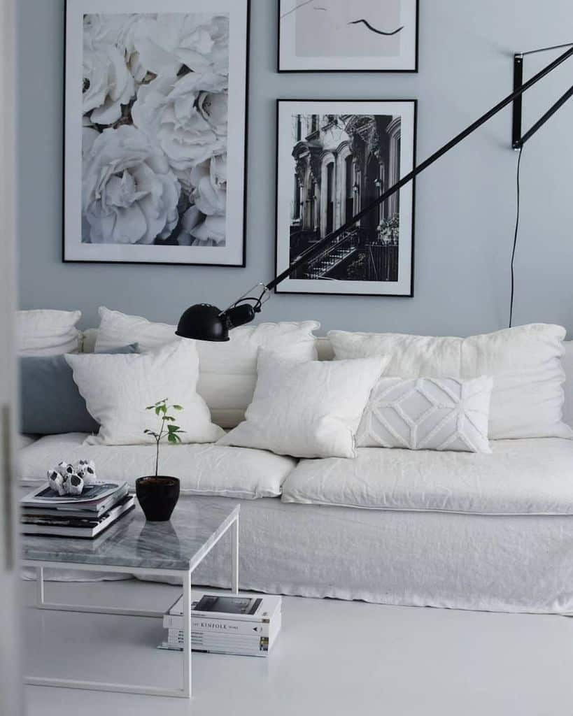 Black And White Picture Wall Ideas Mycalmhome