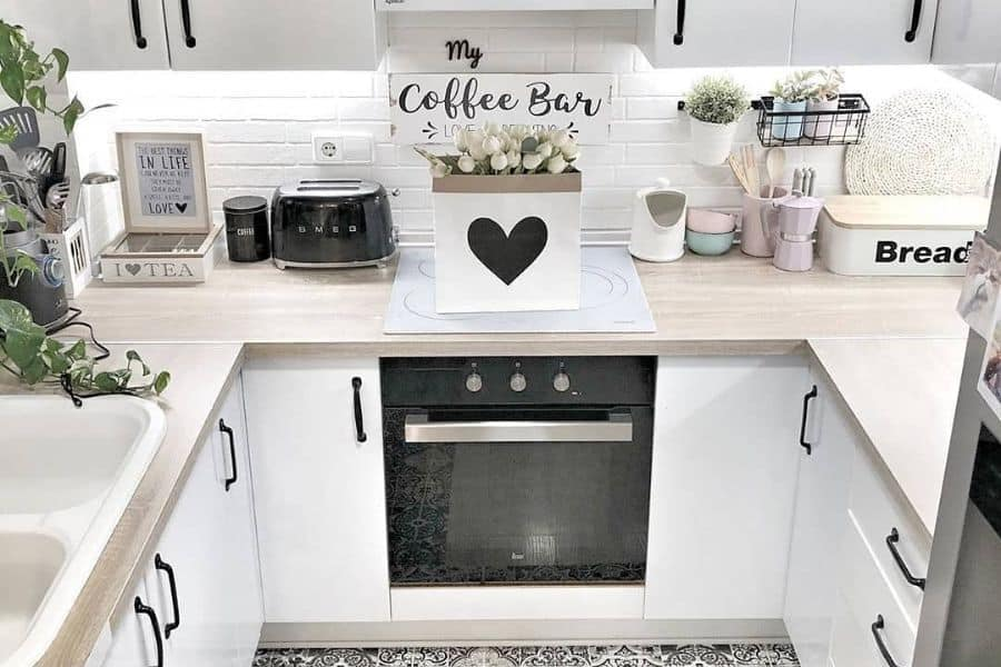 Black And White Small Kitchen Ideas Stepbystep.home
