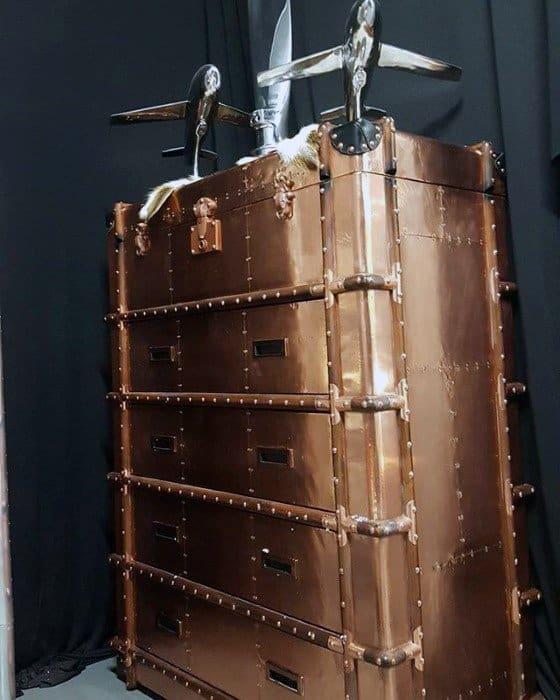 Copper Bachelor Pad Furniture Ideas