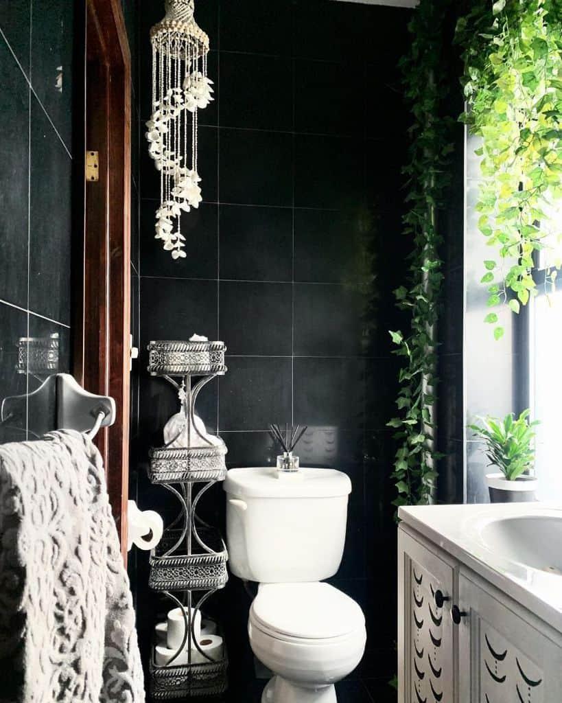 Black And White Tiny Bathroom Ideas Mycityapartment