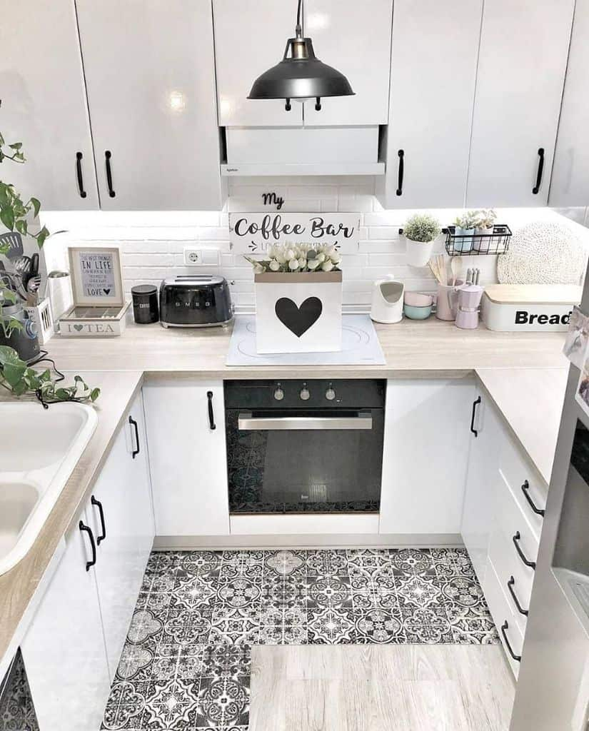 black and white tiny kitchen ideas stepbystep.home and decorandobyvalentinna