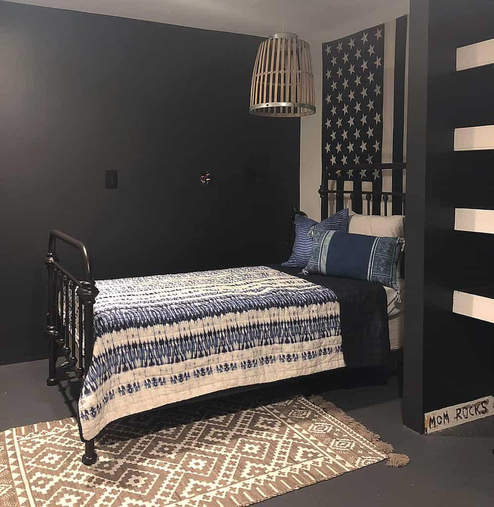 black basement wall ideas love_brookelyn