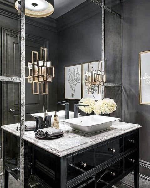 Black Bathroom Cabinet Ideas