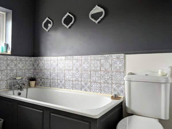 Black Bathroom Tub Ideas