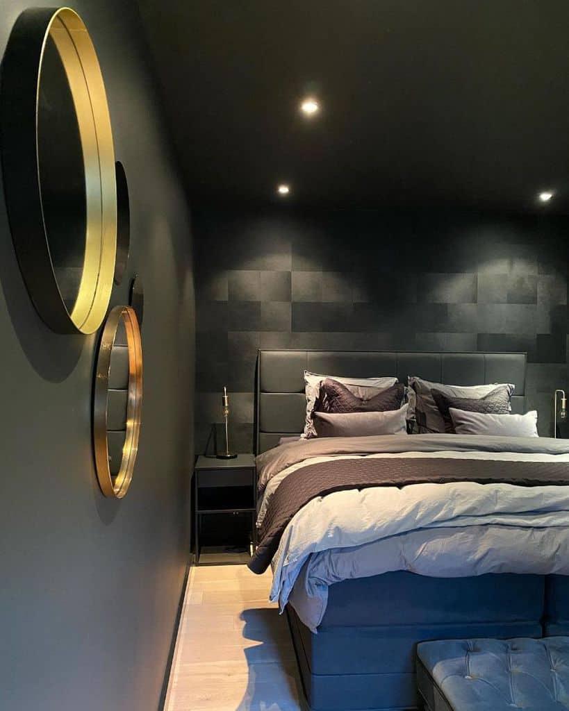 Black Bedroom Paint Colors Byfrederiqueinterior