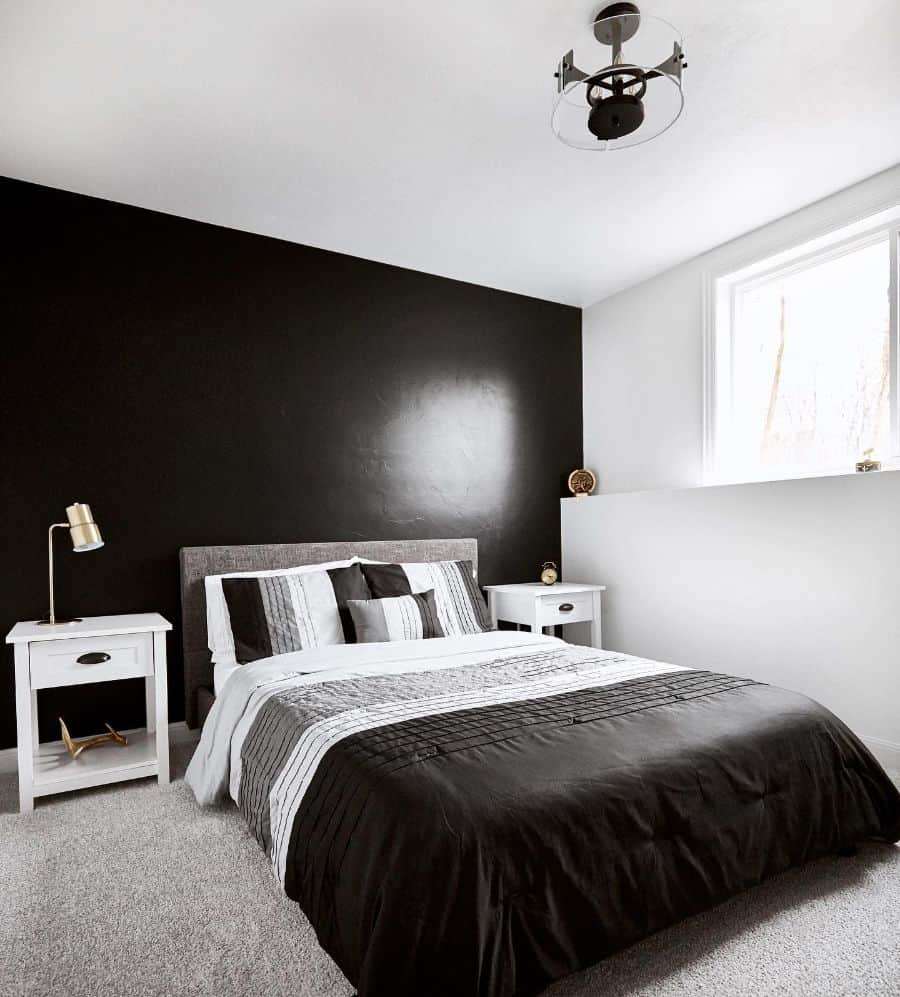 black bedroom paint ideas lauralynnrhode