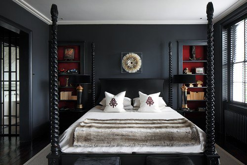 dark vintage bedroom ideas