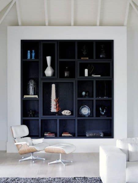 Black Bookshelf Ideas Built In Designs