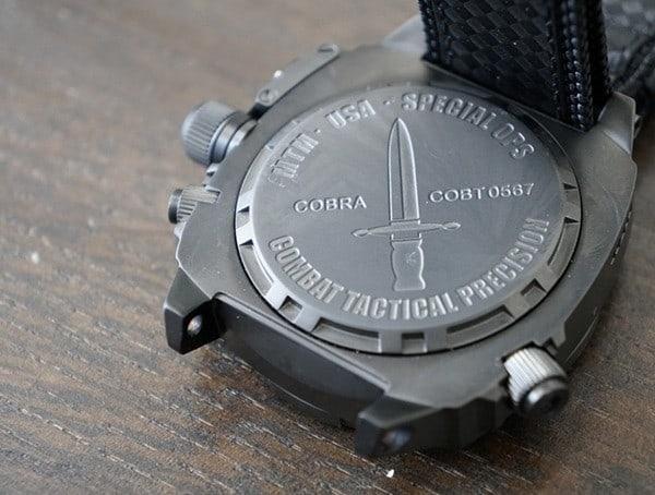 Black Case Back Mtm Special Ops Usa Combat Tactical Mens Watches Cobra