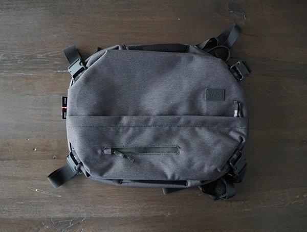 Black Chrome Industries Summoner Backpack Top View