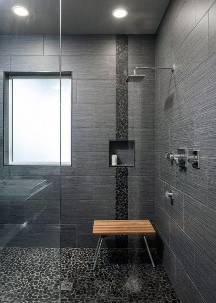 Black Cool Showers Ideas