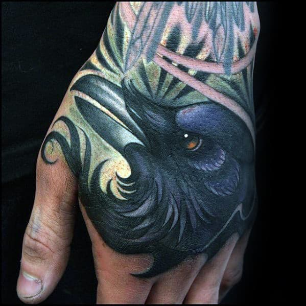 50 badass hand tattoos for men