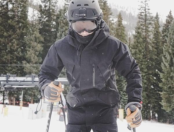 Black Dakine Sawtooth Gore Tex 3l Ski Jacket For Men Review