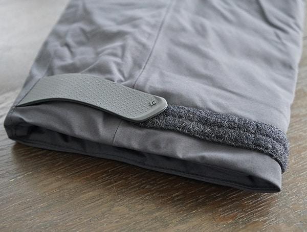 Black Diamond Mission Down Ski Parka Velcro Wrist Closure Detail