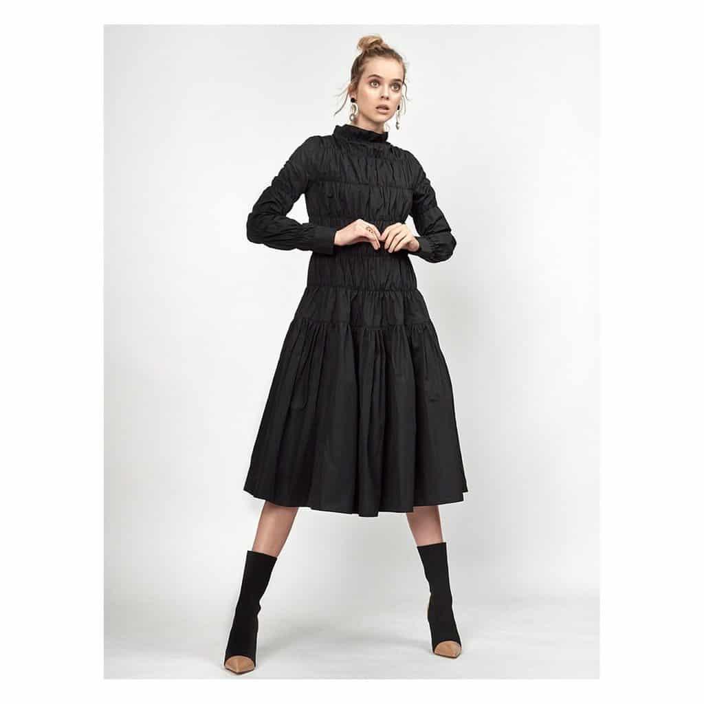 Black Dress Stylish Victorian Gothic