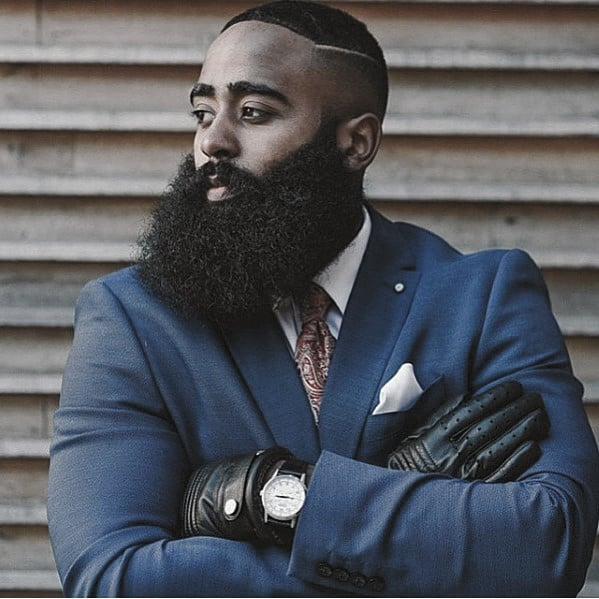 Black Full Beard Styles For Black Men