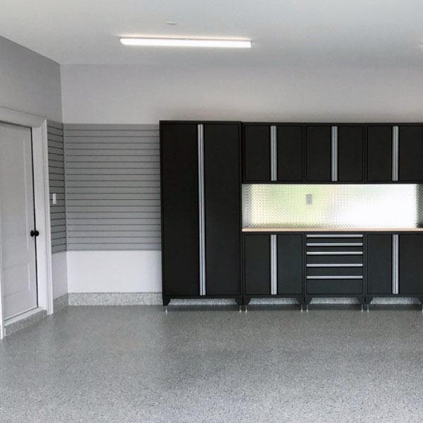 Black Garage Wall Cabinet Ideas
