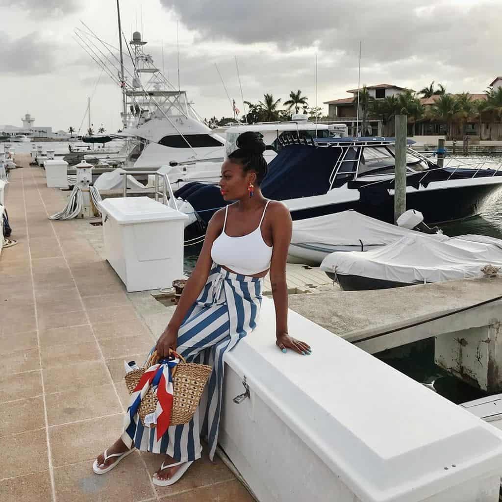 Black Girl Nautical Fashion