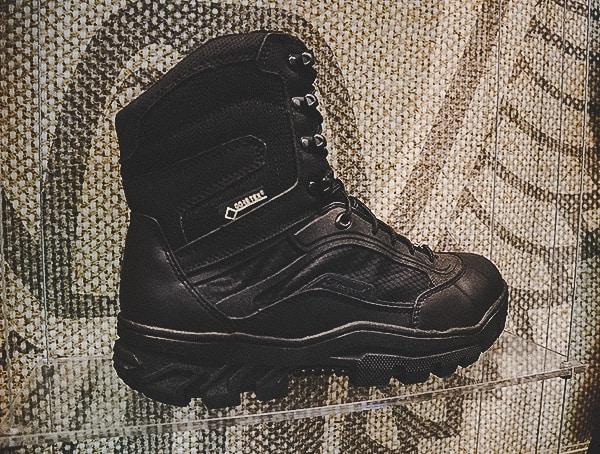 Black Gore Tex Mens Tactical Military Boot
