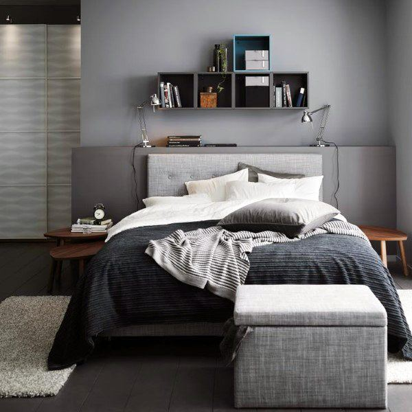 Black Grey And White Bedroom Ideas