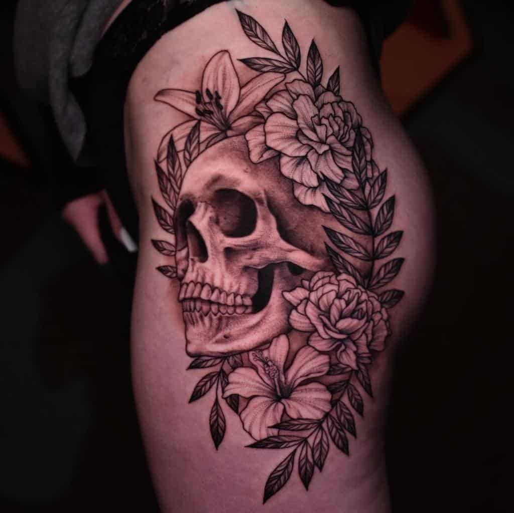 black-grey-carnation-tattoo-sumdirtyginge