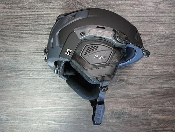 Black Grey Team Wendy M 216 Helmet Review Side