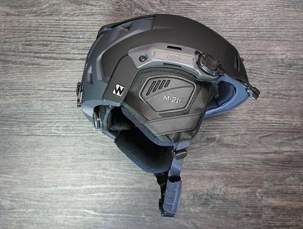 Black Grey Team Wendy M 216 Helmet Review Side