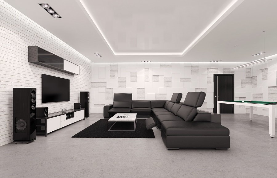 Home Theater Seating Design Ideas
